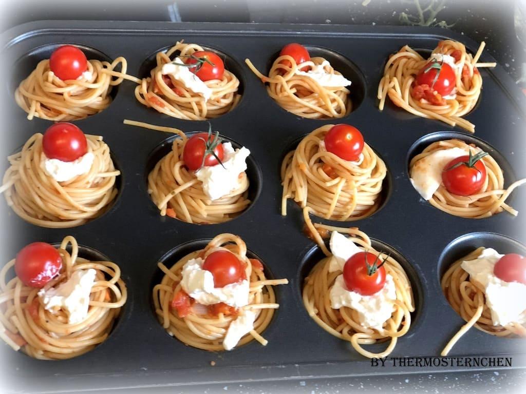 Spaghetti - Nester aus dem Baker