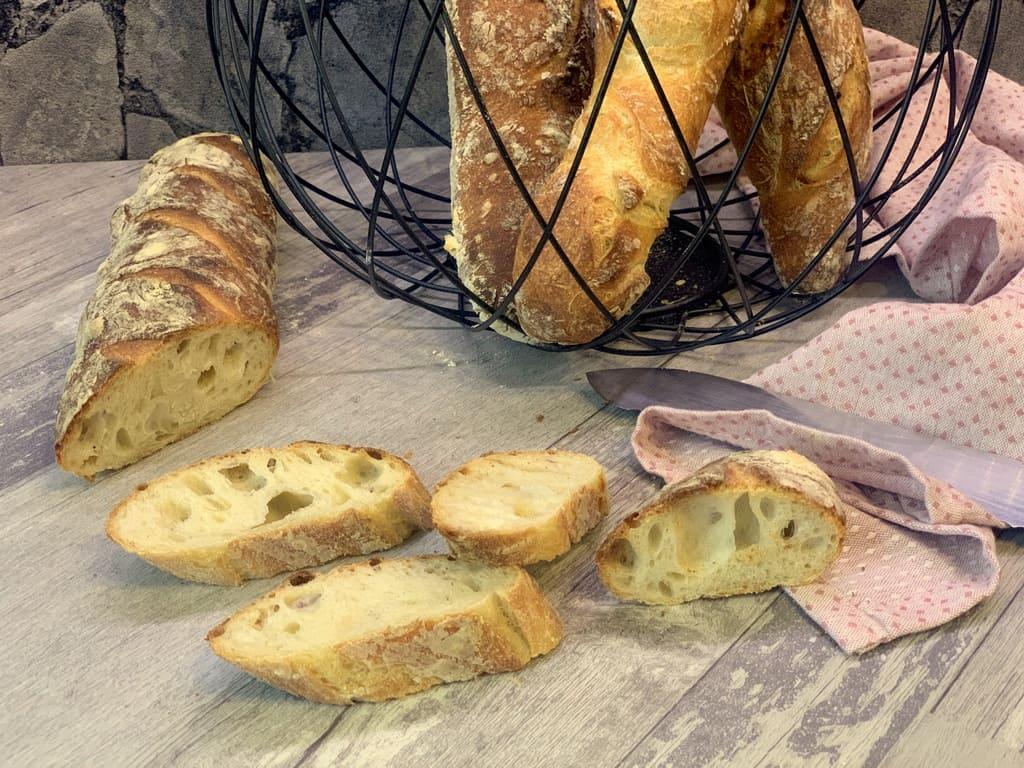 Französische Baguettes