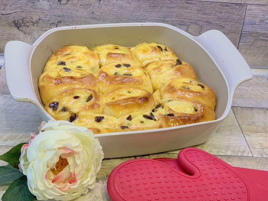 Französischer Hefe Schneckenkuchen / Chinois