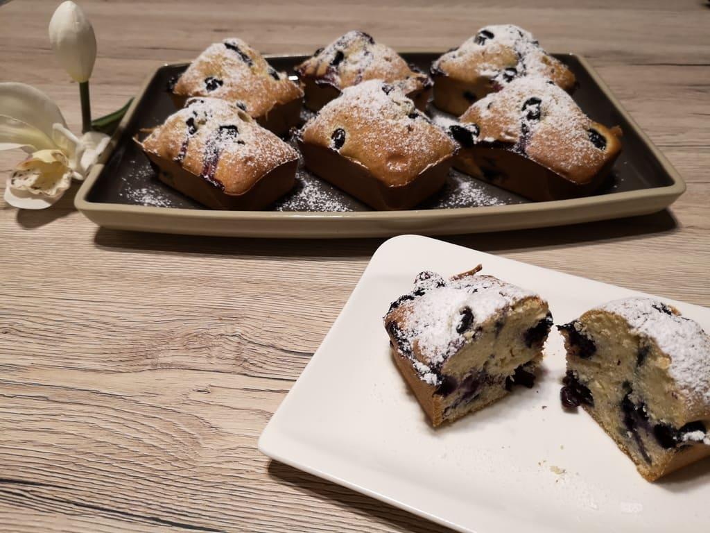 Silke's Heidelbeer-Küchlein aus der Mini Kuchenform