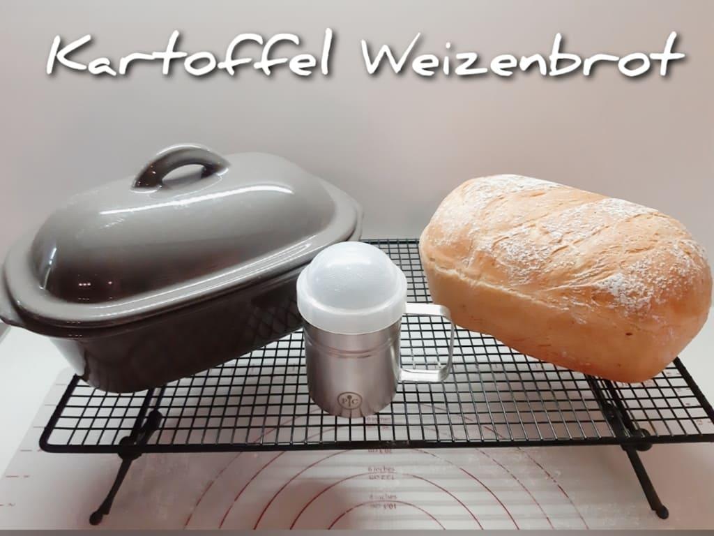 Kartoffel / Weizenbrot klein für die Lily von Astrid Bartels