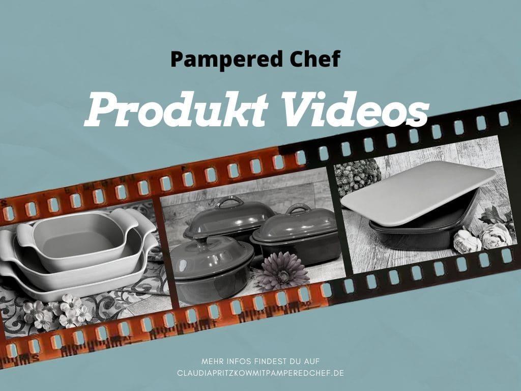 Pampered Chef Produkt Videos