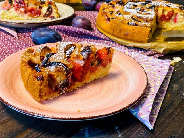 Zwetschgen – Eierlikör – Kuchen