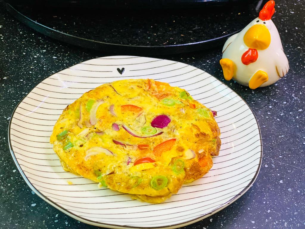 Omelette Deluxe - Rezept für den Deluxe Air Fryer -